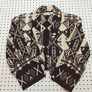 Vintage Flashback Cropped Jacket, Size Medium